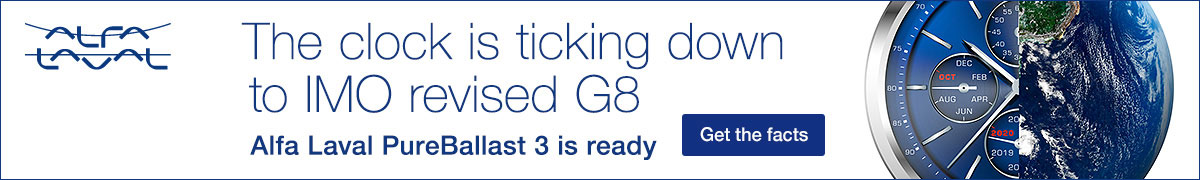 The clock is ticking down to IMO revised G8 - Alfa Laval PureBallast 3 is ready - Get the facts