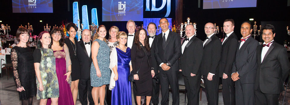 IBJ Awards ceremony