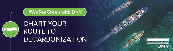 DNV - Chart your route to decarbonization #WeSeaGreen with DNV