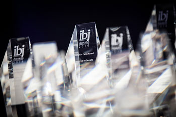 IBJ Awards trophies