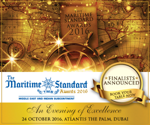 The Maritime Standard Awards for 2016