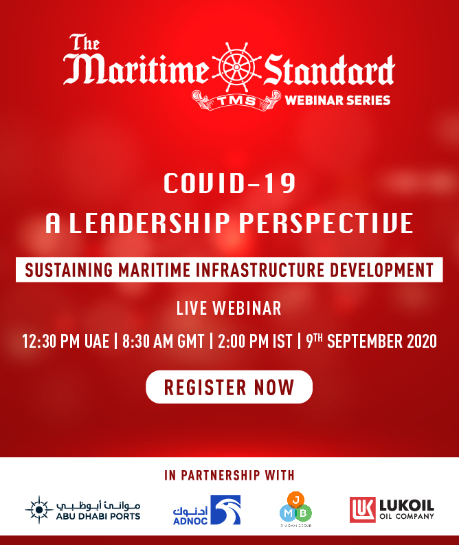 TMS Webinar Series COVID-19: A Leadership Perspective - 'Sustaining Maritime Infrastructure Development'