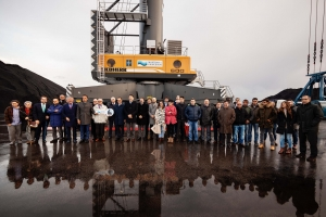 100th Liebherr MHC in Spain