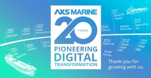 20 years of pioneering AXSMarine.