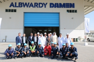 Albwardy Damen's 10th anniversary