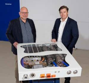Alfa Laval's carbon-neutral fuel cell system takes shape