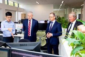 Australia Deputy PM visits OMC