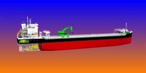 Bulker hybrid first for Wärtsilä