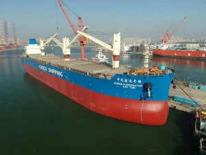 Cosco confirms Thordon seawater lubricated bearings for eight newbuilds