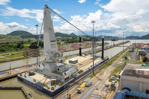 Damen concludes Crane Barge keel laying