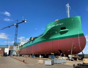 Damen delivers high-lift rudders for 10 Arklow vessels