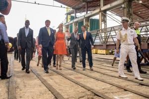 Damen Shiprepair Curaçao welcomes Royals