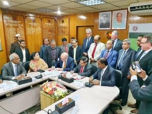 Damen signs Bangladesh MoU