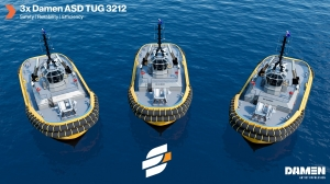 Damen tugs to operate at Queensland bulk ports