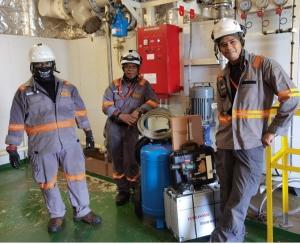 DNV verifies Survitec's new firefighting foam tests