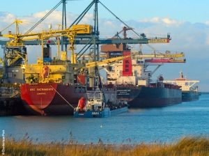 Dunkerque posts sharp rise in trade