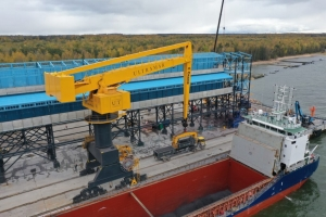 E-Crane and containerised bulk handling