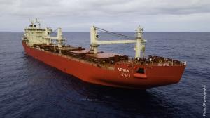 Fednav welcomes its latest icebreaking bulk carrier