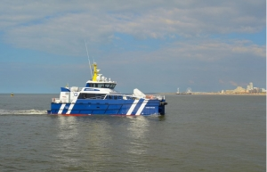 First delivery for Damen fast crew supplier