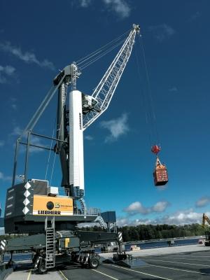 First fossil-free diesel Liebherr MHC