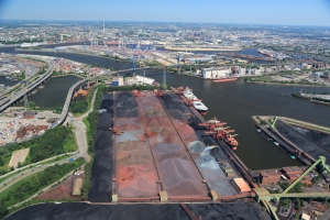 First-quarter returns from Port of Hamburg