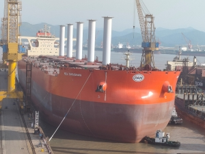 First rotor sails equipped ore carrier to serve Vale