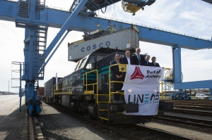 First Silk Road train arrives at Antwerp carrying industrial minerals