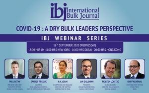 IBJ Webinar to launch on 16 September