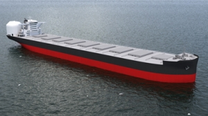 Kawasaki develops new LNG-Fueled bulker