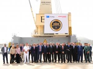 Konecranes Gottwald Cartagena milestone