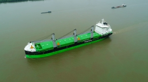 """World's most eco-friendly bulker"" delivered to ESL"