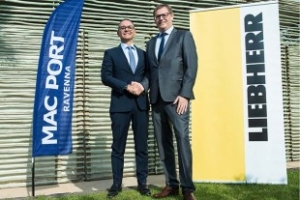 Liebherr and Mac Port's 10 year partnership