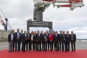 Liebherr celebrates TCC 78000 inauguration