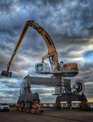 Liebherr giant headed for China