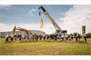 Liebherr USA celebrates groundbreaking of new headquarters