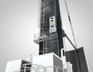 LiUP crane driver elevator for MHCs
