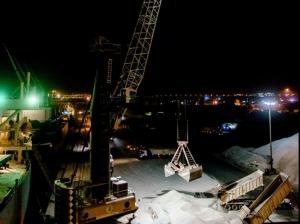 Phoenix Lighting retrofits Mobile Harbor Cranes at RAK Ports