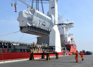 Rhenus delivering for power station