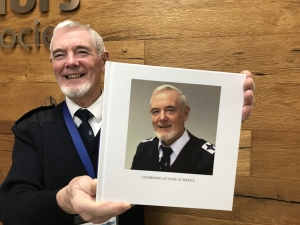 Seafarers' chaplain honoured for 50 years of service