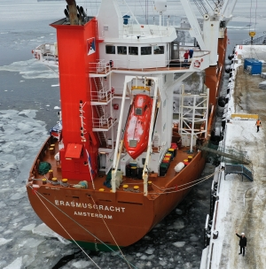 Sept-Îles welcomes first ship of 2021