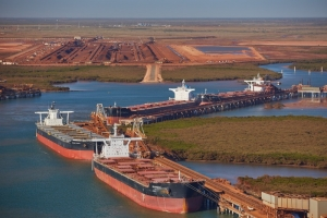 Steady rises at Pilbara Ports