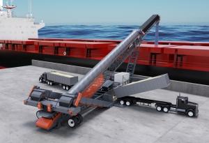 Superior reveals new mobile ship loading conveyor
