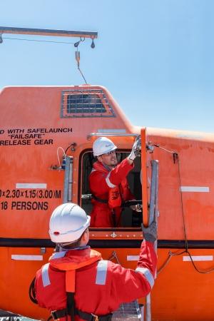 Survitec enhances lifeboat inspection solution