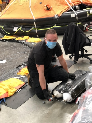 Survitec: maintain LSA service and schedules