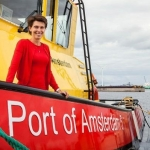 Amsterdam harbour master leaves for Fire Department