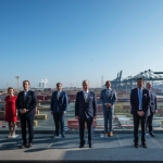 King visits 100% operational Port of Antwerp