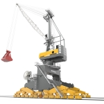 Liebherr launches first totally electrical port crane