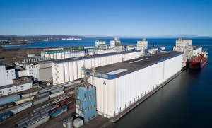 Thunder Bay's strong shipping season