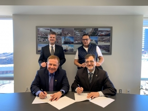 Trois-Rivières and Mulhouse-Rhin Collaborate